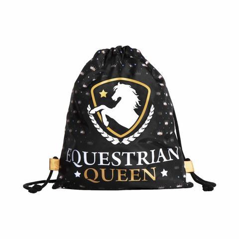Worek na kask lub akcesoria EQuestrian Qeen Deluxe czarny