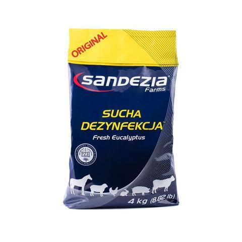 Preparat do suchej dezynfekcji stajni Sandezia