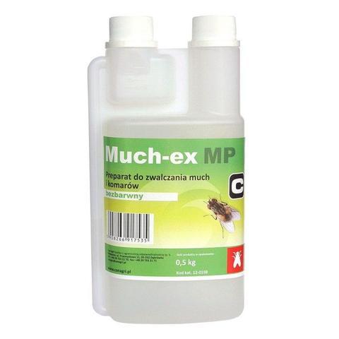 Preparat zwalczający owady i insekty Muchex