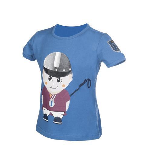 Koszulka dziecięca HKM King Clyde niebieska