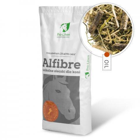 Sieczka olejowana Alfibre Oil Pro-Linen