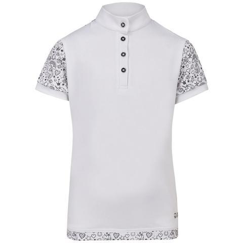 Koszulka konkursowa młodzieżowa Busse Finja biała
