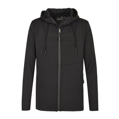 Bluza męska Eskadron Reflexx Zip-Hood Black, czarna 2021