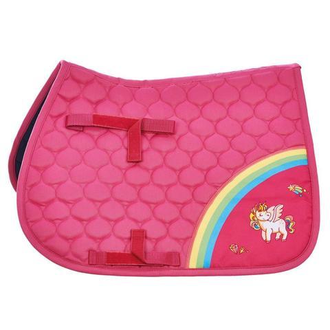 Czaprak Busse Flying Pony II Pink, różowy