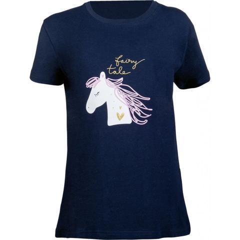 Koszulka młodzieżowa HKM Fairy Tale granatowa