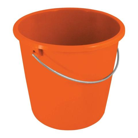 Wiadro plastikowe York pomarańczowe