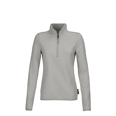 Bluza polarowa damska Pia Functional Mint Grey, szara 2021