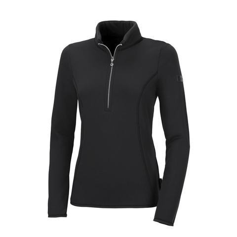 Bluza polarowa damska Pia Functional Black, czarna 2021