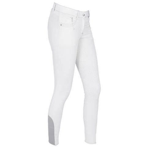 Bryczesy damskie Kerbl- Covalliero Basic Plus białe