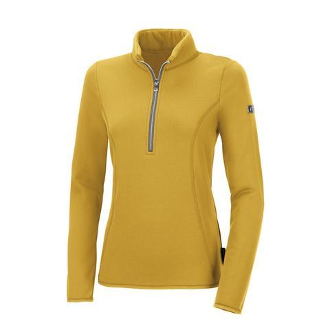 Bluza polarowa damska Pia Functional Vintage Gold, żółta 2021