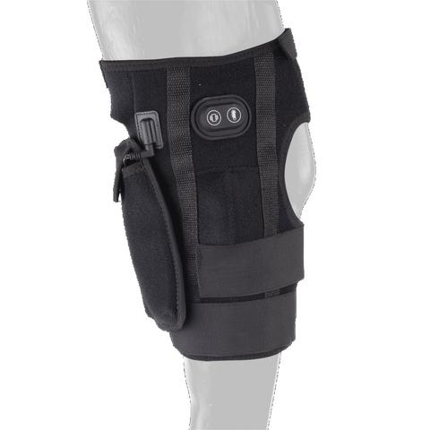 Ochraniacz terapeutyczny na staw skokowy Waldhausen W-Health & Care Hock Boot czarny