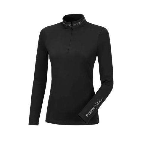 Bluzka techniczna damska Pikeur Norea Black, czarna 2021