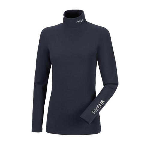 Golf damski Pikeur Sina Roll Dark Blue, granatowy 2021