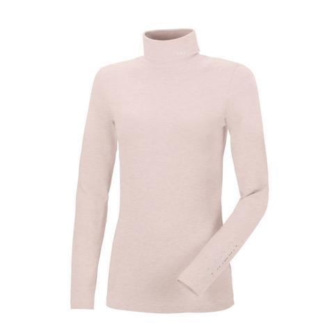 Golf damski Pikeur Sina Roll Grey Violet, pudrowy róż 2021
