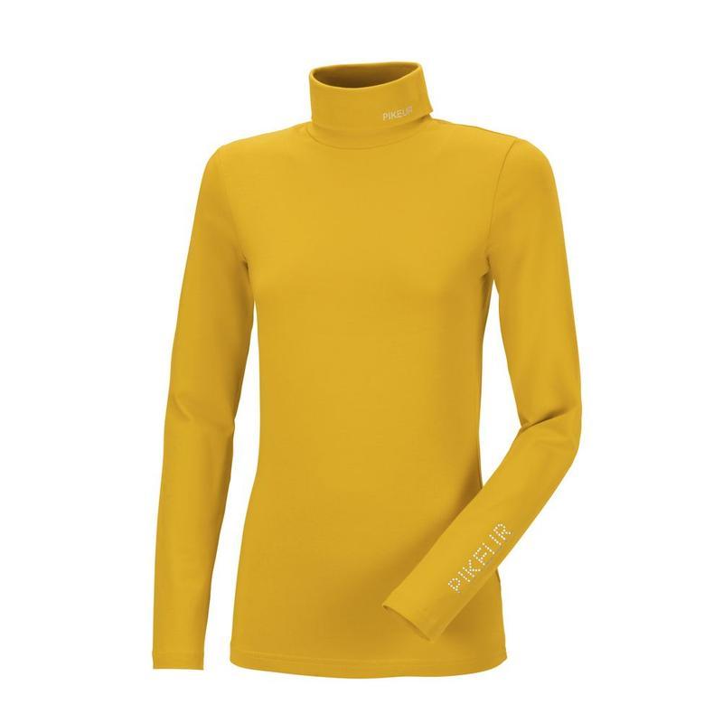 Golf damski Pikeur Sina Roll Vintage Gold, żółty 2021