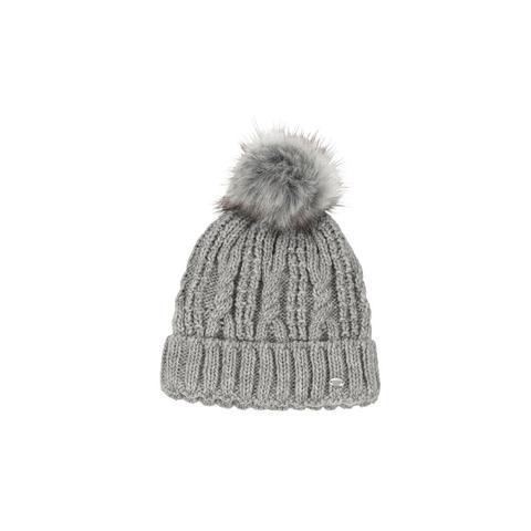 Czapka zimowa pleciona Pikeur Light Grey, szara 2021