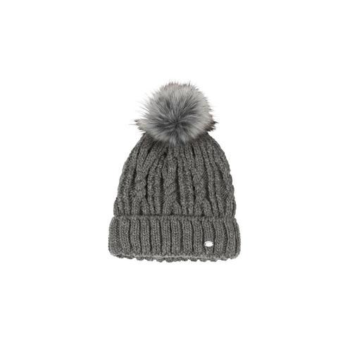 Czapka zimowa pleciona Pikeur Middle Grey, szara 2021