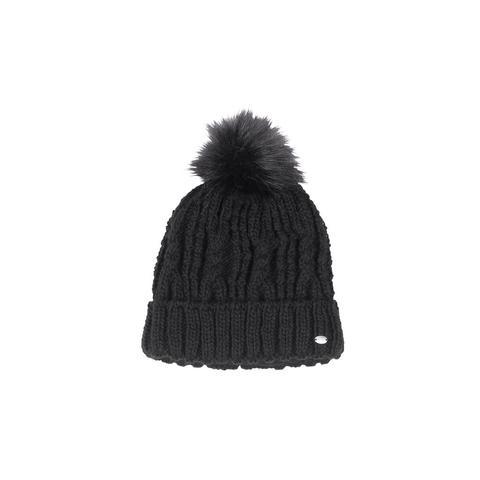 Czapka zimowa pleciona Pikeur Black, czarna 2021