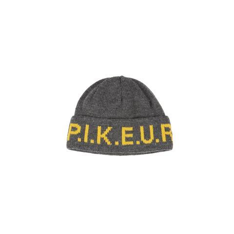 Czapka zimowa z logo Pikeur Grey Melange, szara 2021