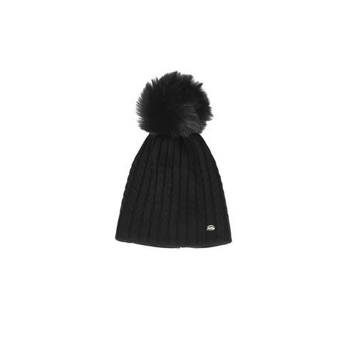 Czapka zimowa Pikeur Black, czarna 2021