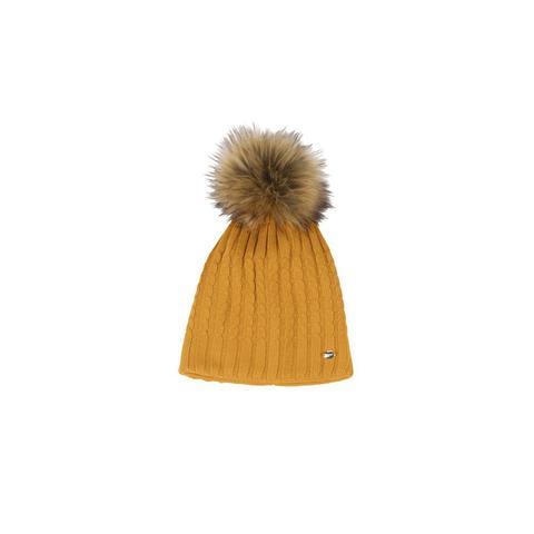 Czapka zimowa Pikeur Vintage Gold, żółta 2021