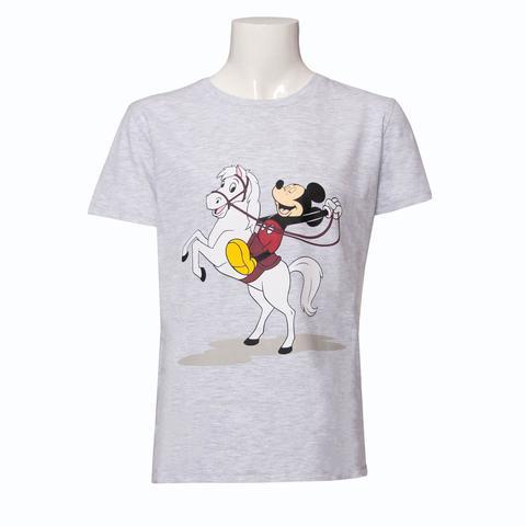 Koszulka młodzieżowa HKM Disney Myszka Miki szara