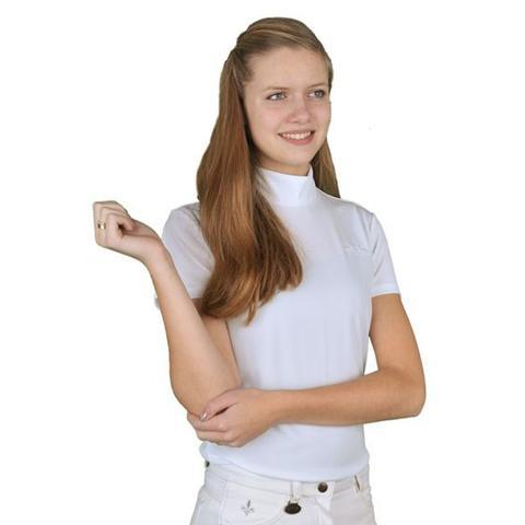 Koszulka konkursowa HKM Turf biała