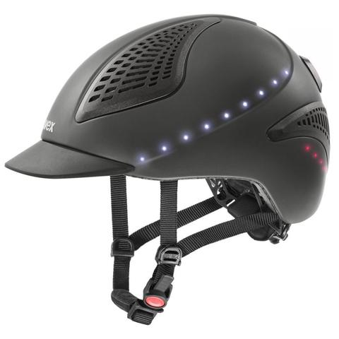 Kask UVEX Exxential II LED antracytowy matowy