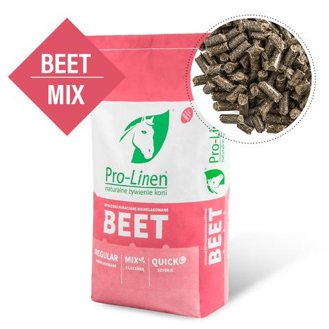 Wysłodki buraczane szybkie z lucerną Beet Mix Pro-Linen