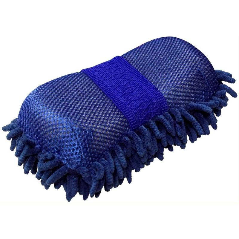 Gąbka z myjką York niebieska