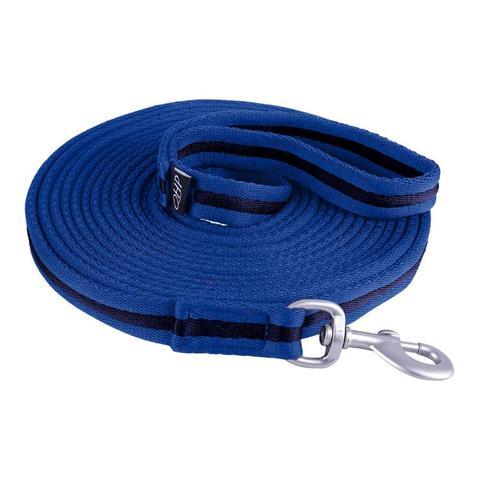 Lonża QHP Splash, niebiesko-czarna