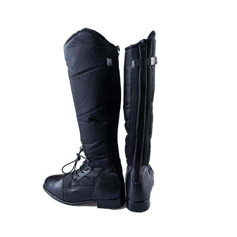 Termobuty HKM Elegance czarne