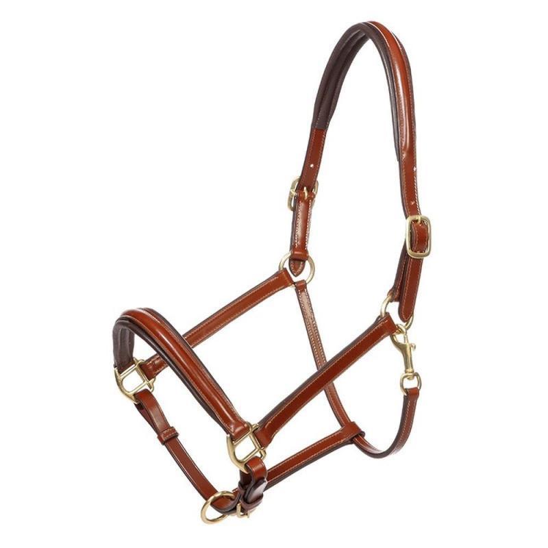 Kantar Kavalkade Charming skórzany koniakowy