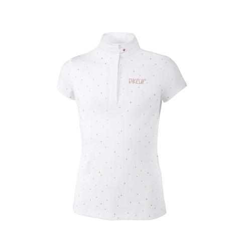 Koszulka konkursowa młodzieżowa Pikeur Tiana white 2020