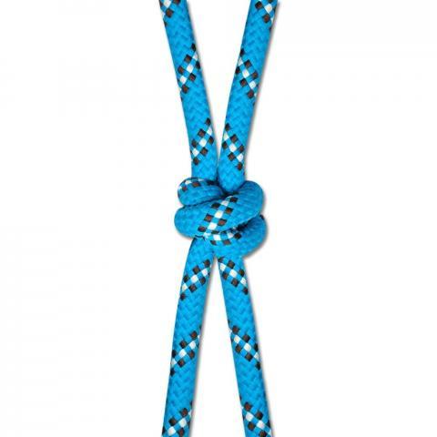 Kantar sznurkowy niebiesko-biało-brązowy