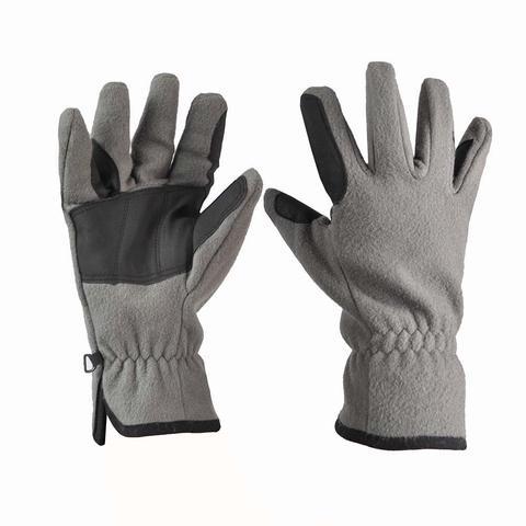 Rękawiczki polarowe Covalliero szare