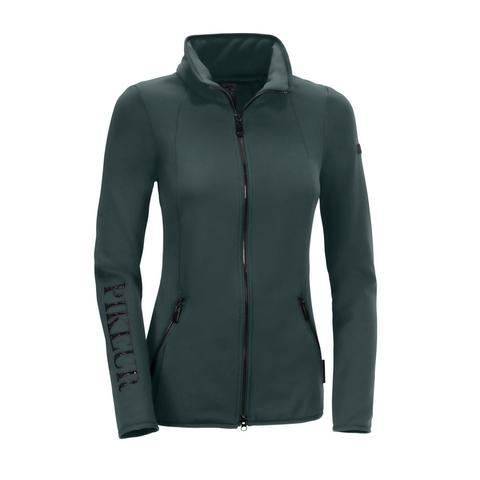 Bluza polarowa damska Niara Antique Green, zielona 2021