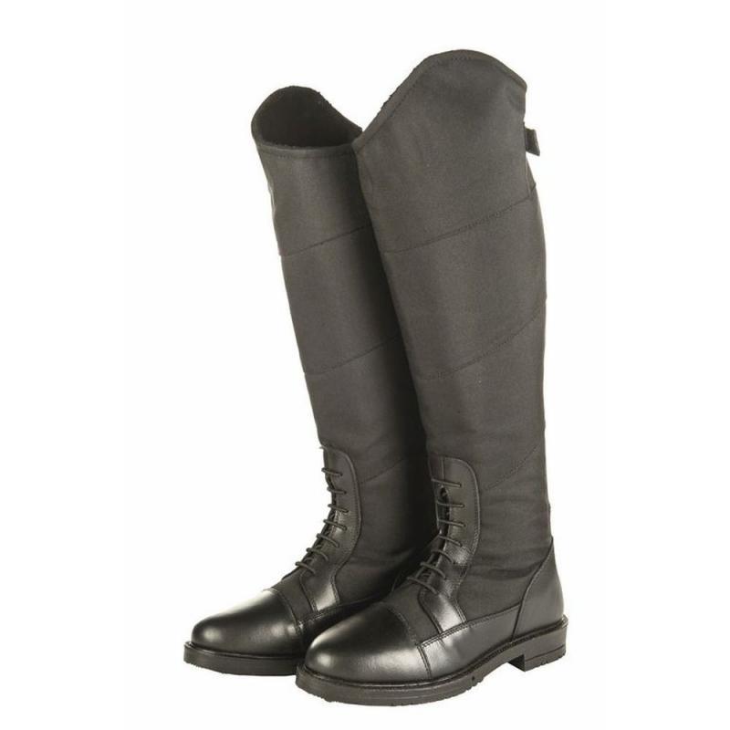 7194ef0f52fee Termobuty HKM Style Winter czarne