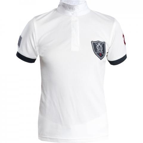 Bluzka konkursowa Horze Cool biała
