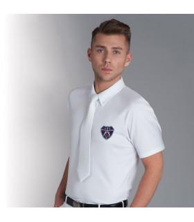 Krawat FP AS dla jeźdźca biały