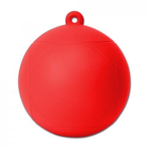 Piłka dla konia czerwona