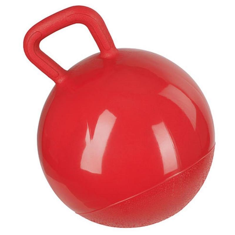 Piłka dla konia Kerbl miękka czerwona