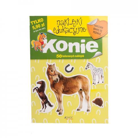 Naklejki edukacyjne. Konie.