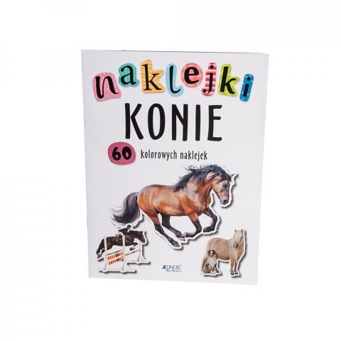 Konie - 60 kolorowych naklejek