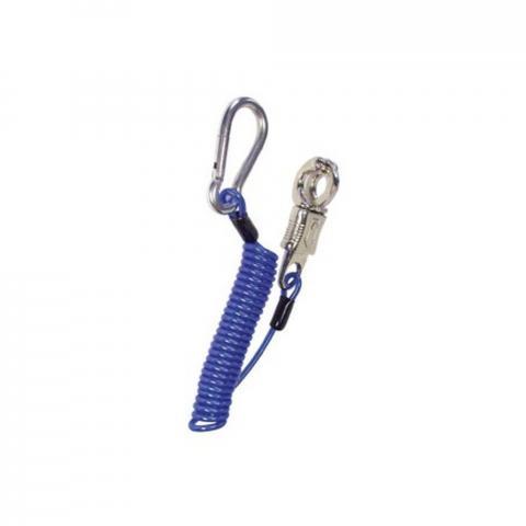Uwiąz sprężynowy Flex-Hook Nr2 HR niebiski