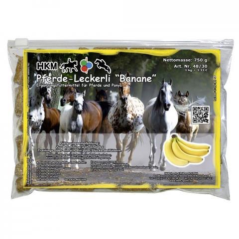 Cukierki dla koni HKM bananowe