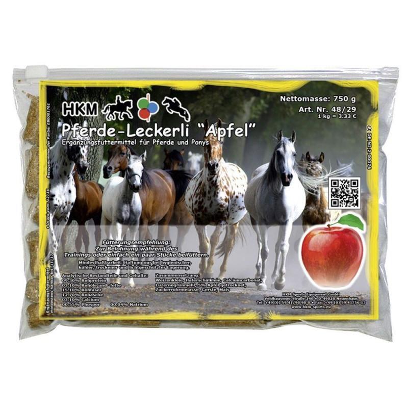 Cukierki dla koni HKM jabłkowe