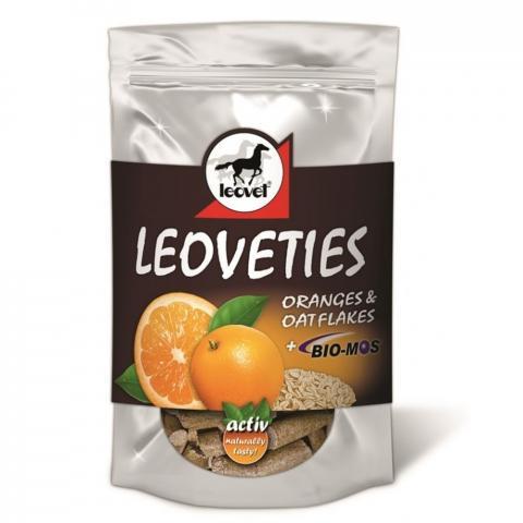 Cukierki Leoveties pomarańcza+płatki owsiane