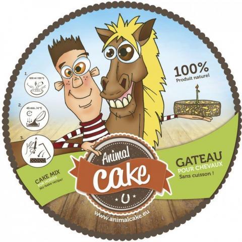 """Mieszanka do zrobienia tortu dla konia Ekkia """"Animal Cake"""""""