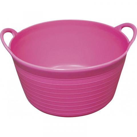 Wiadro Ekkia HIPPOTONIC Flexi-Tub różowe 12L